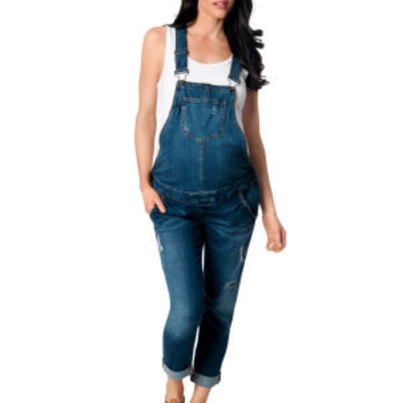 23bf465ff9ca7 A Pea in the Pod Denim - A Pea in the Pod Maternity Overalls